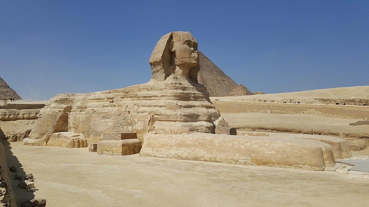 The Sphinx, Giza - c.2500 B.C.