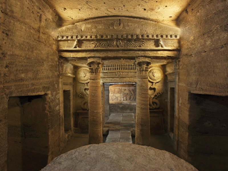 Catacombs of Kom El Shoqafa - c. 100s