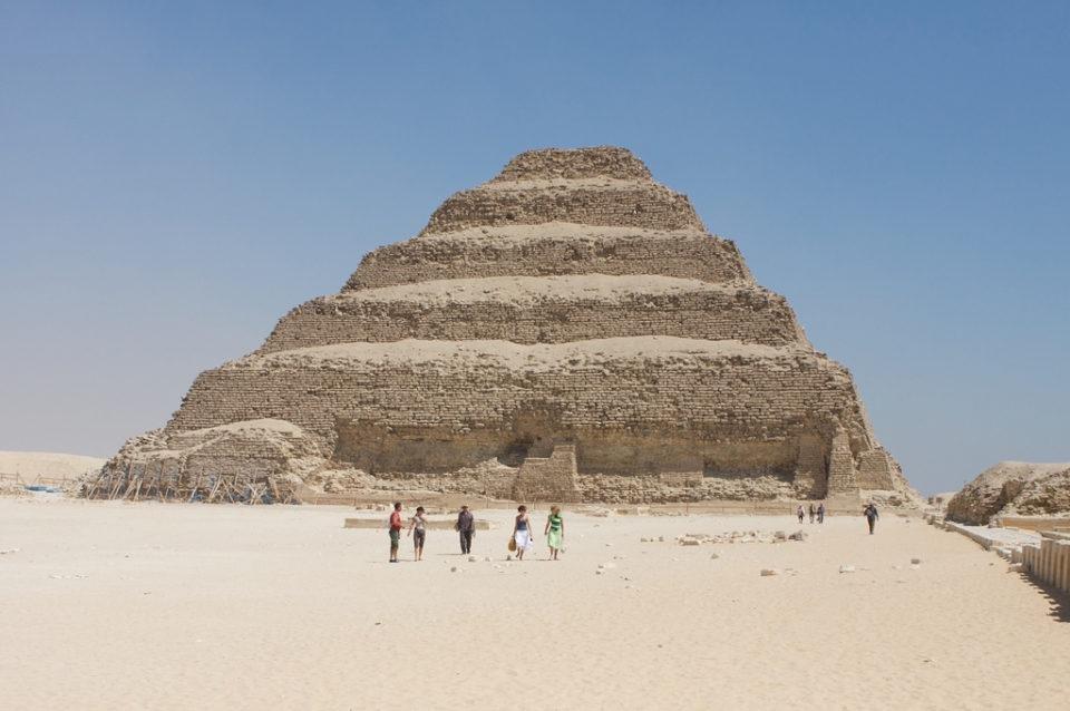 The Pyramid of Djoser/Saqqara, Giza - c. 2600 B.C.