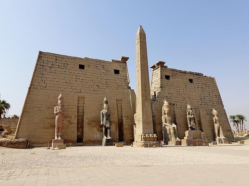Luxor Temple - c.1400 B.C.