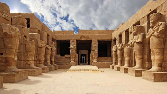Karnak Temple - c. 2000 B.C.