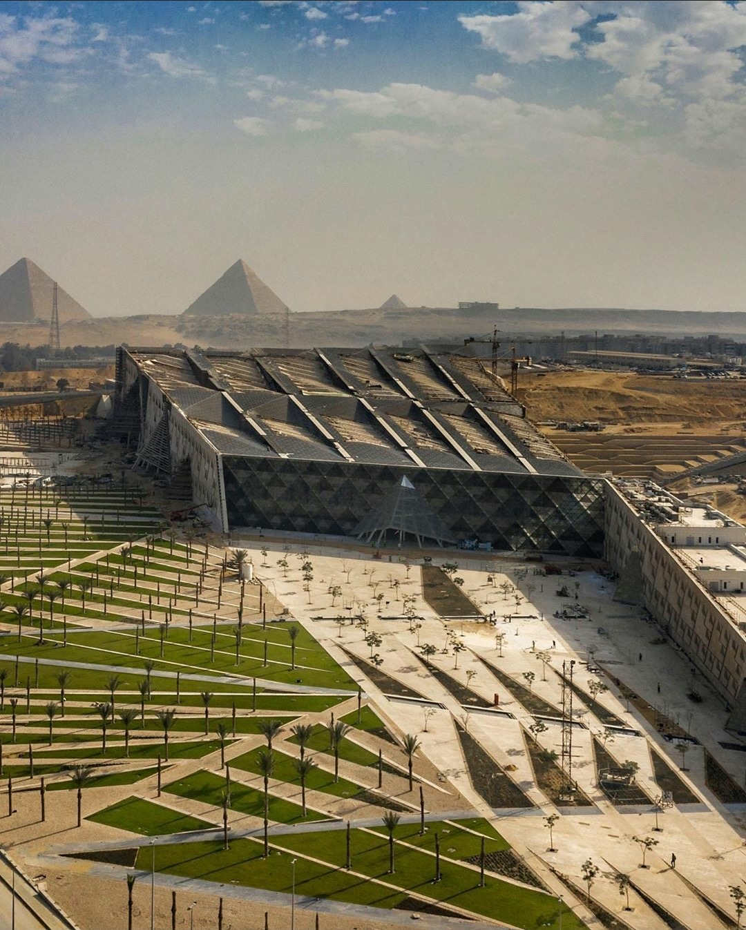 The Grand Egyptian Museum, Giza - 2012-TBD