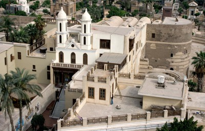 The Hanging Church, Old Cairo - 690-692