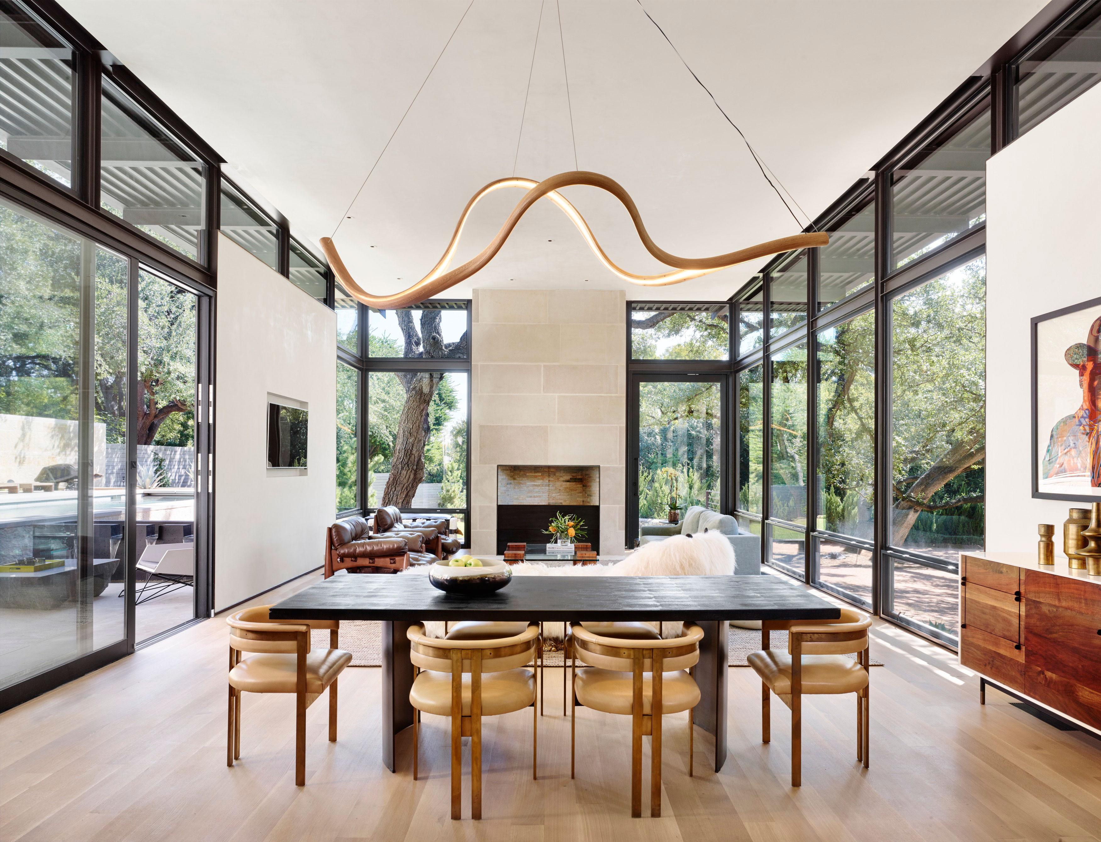 Olmos park residence lake flato - Interior designers san antonio texas ...