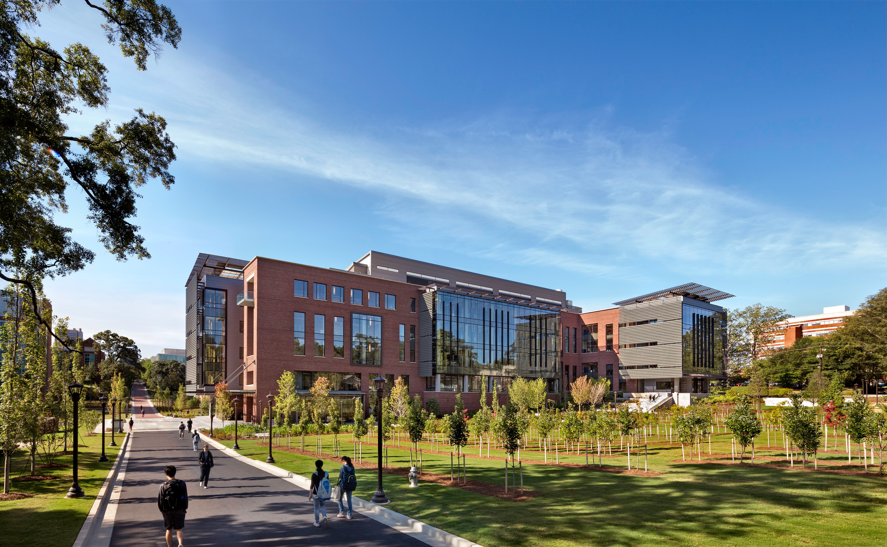 Georgia Tech Engineered Biosystems Building Lake Flato