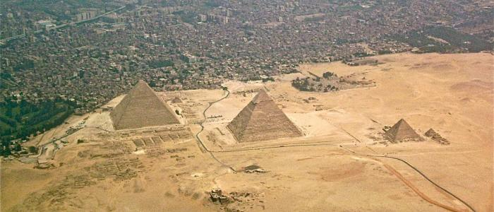 Pyramids of Giza, Giza - c. 2589-2504 B.C.