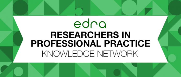 EDRA Conference Research in Professional Practice Session Graphic