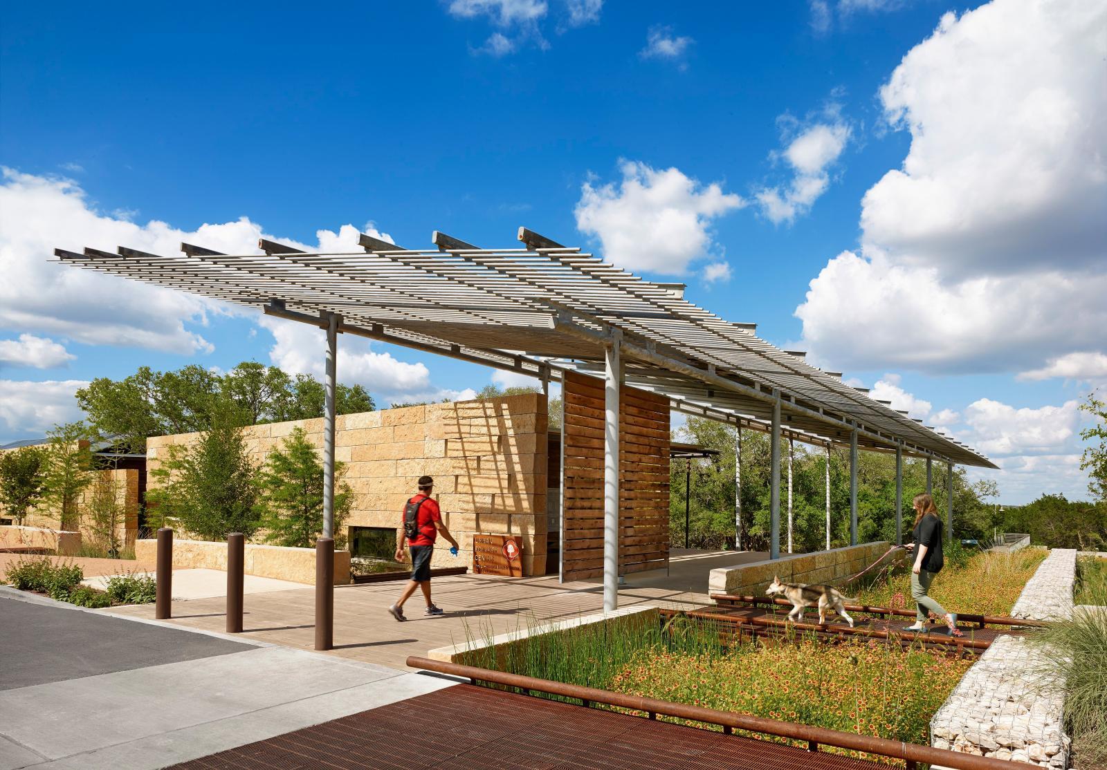 Phil Hardberger Park Urban Ecology Center Lake Flato