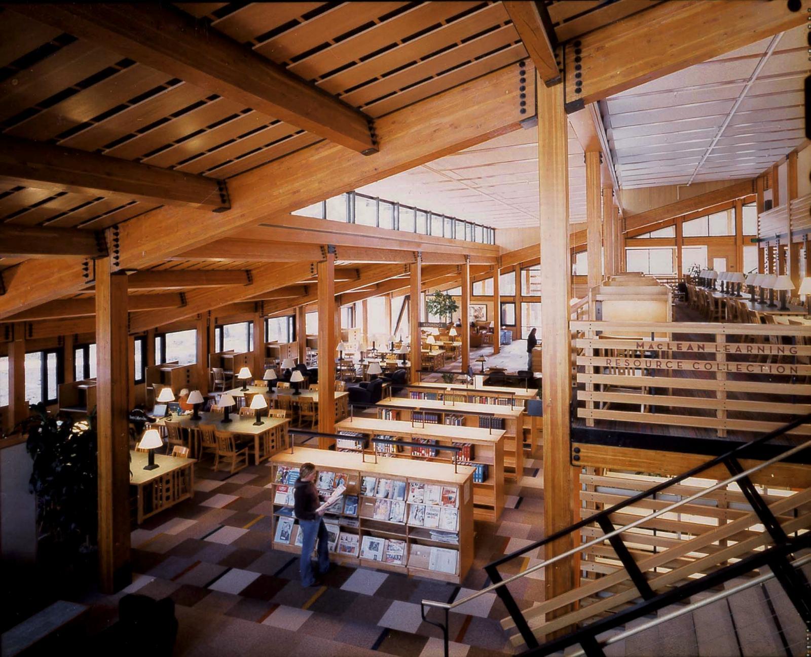 Prim Library Sierra Nevada College Lake Flato