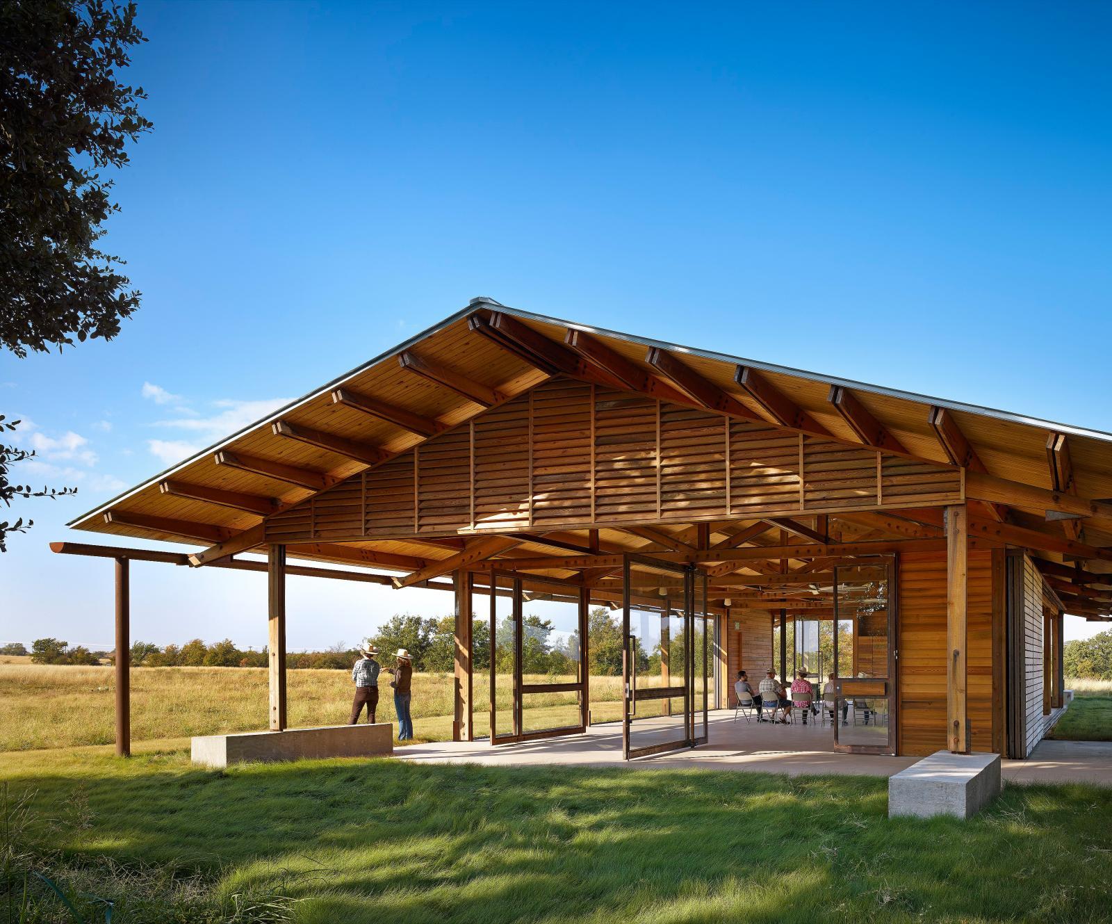 Dixon Water Foundation Josey Pavilion Lake Flato