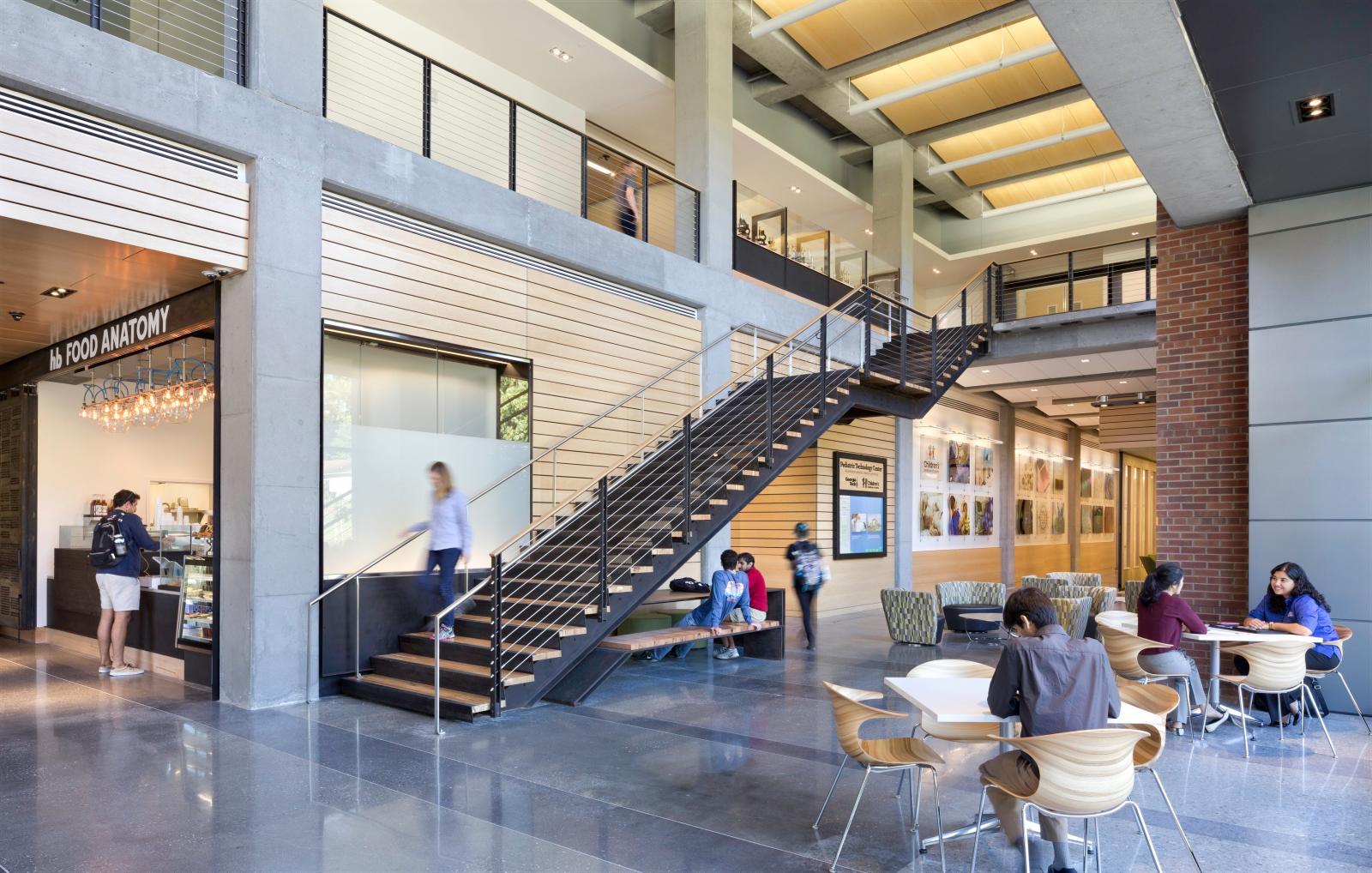 Georgia Tech Engineered Biosystems Building