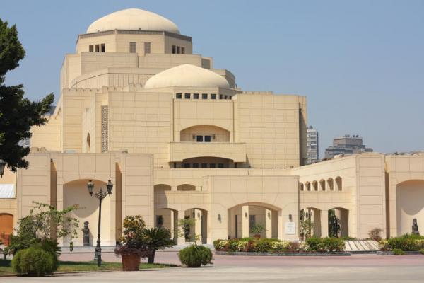 Cairo Opera House, Zamalek - 1985-1988
